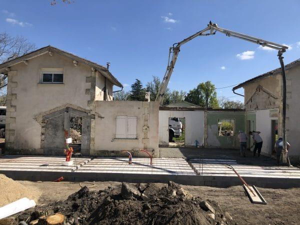 rénovation et agrandissement maison