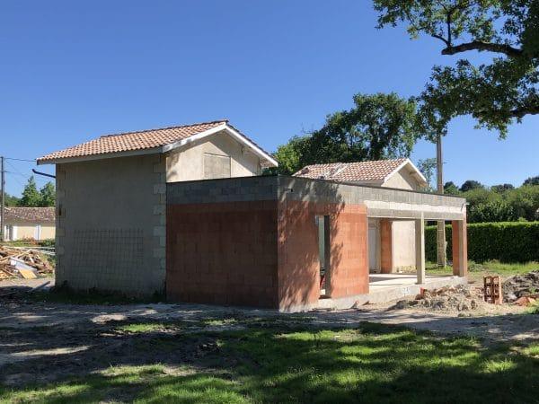 extension et rénovation habitation