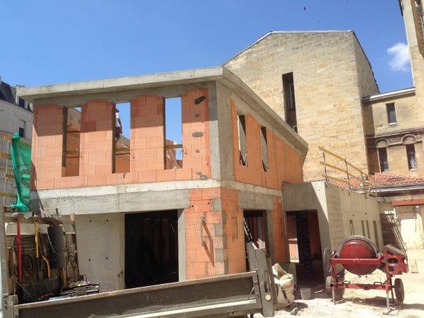 construction bâtiment culturel