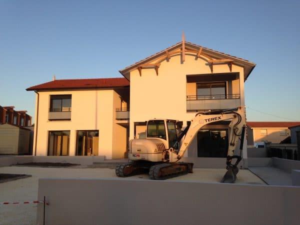 construction commerce et logements