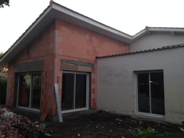 extension maison traditionnelle