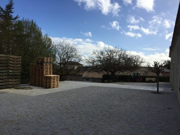 Construction de bâtiments viticoles
