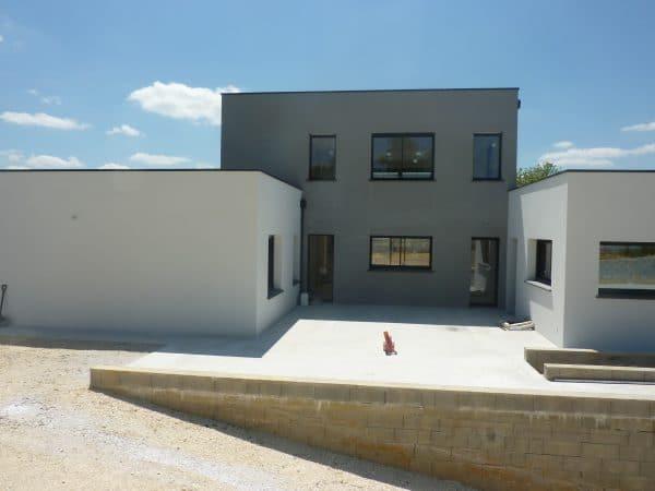 Maison Fargues construction