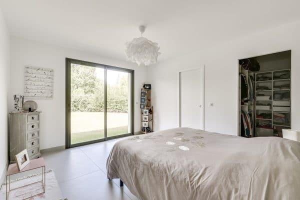 chambre maison contemporaine